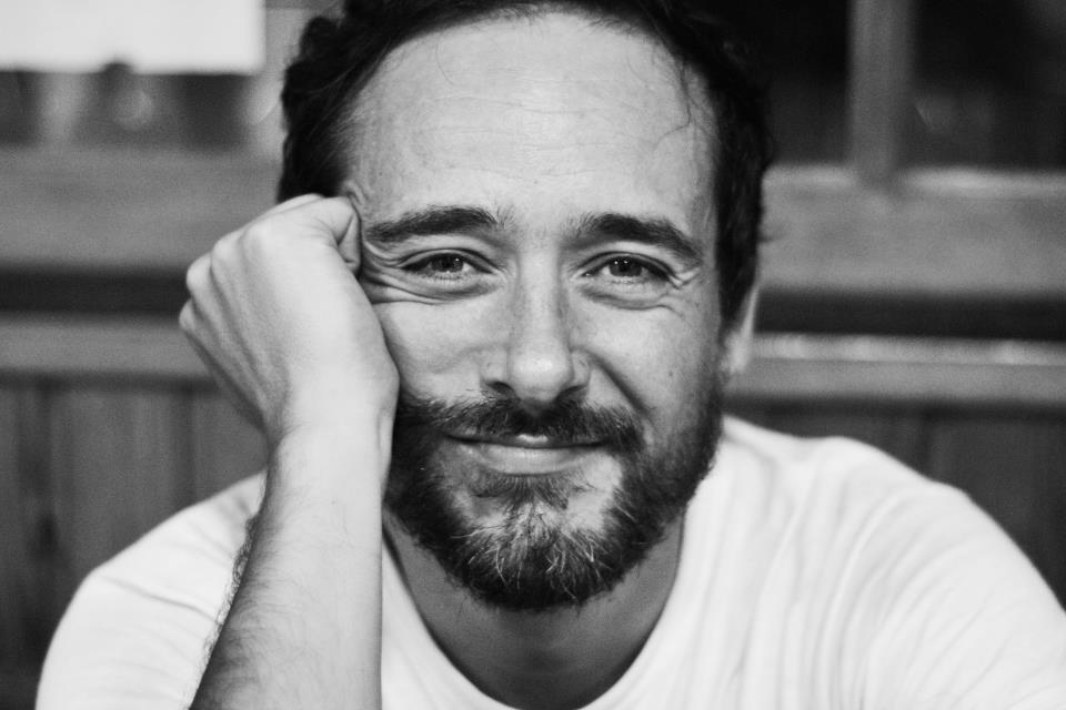 Santi Balmes foto en blanco y negro