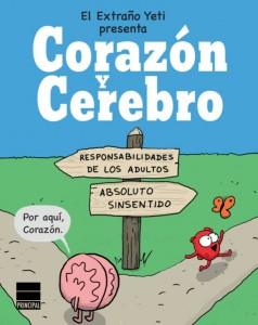 Corazón y cerebro Principal Gráfica novela gráfica cómic webcómic